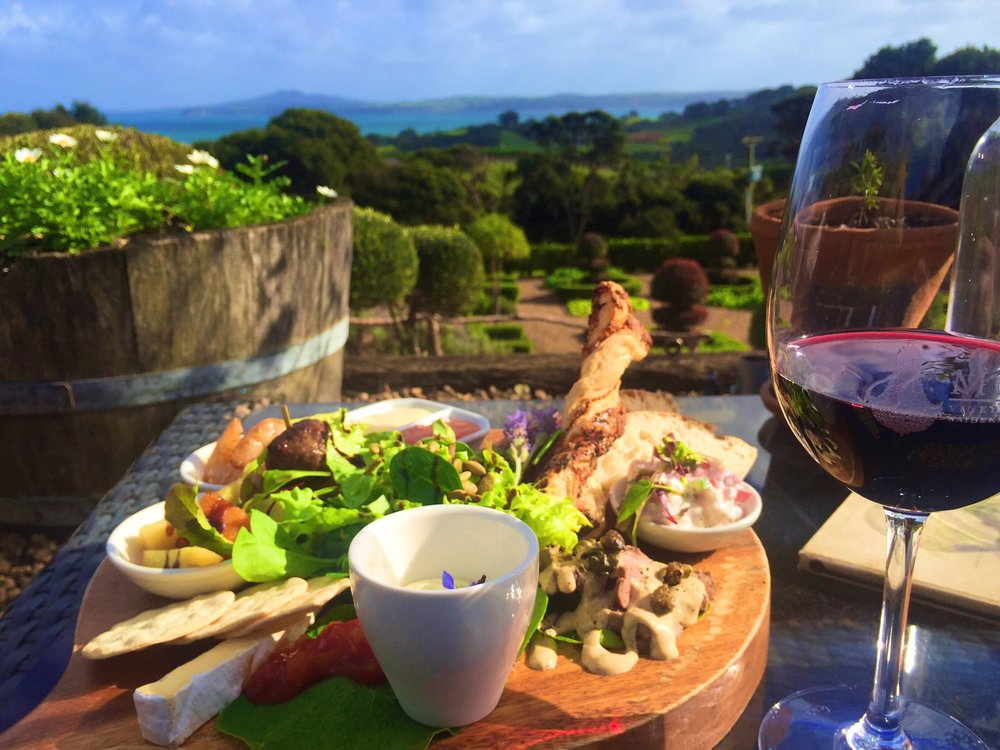 This eye and mouthgasm came from Mud Brick winery (HIGHLY recommend, along with Cable Bay, just a few metres down)