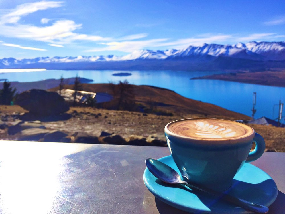 There's also a cafe at the top of Mount John, so if you do a sunrise hike you can enjoy a nice flat white once you finish!