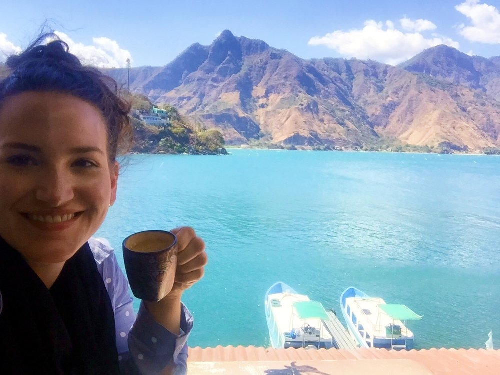 Don't you want to enjoy a coffee with this view! Guatemala!