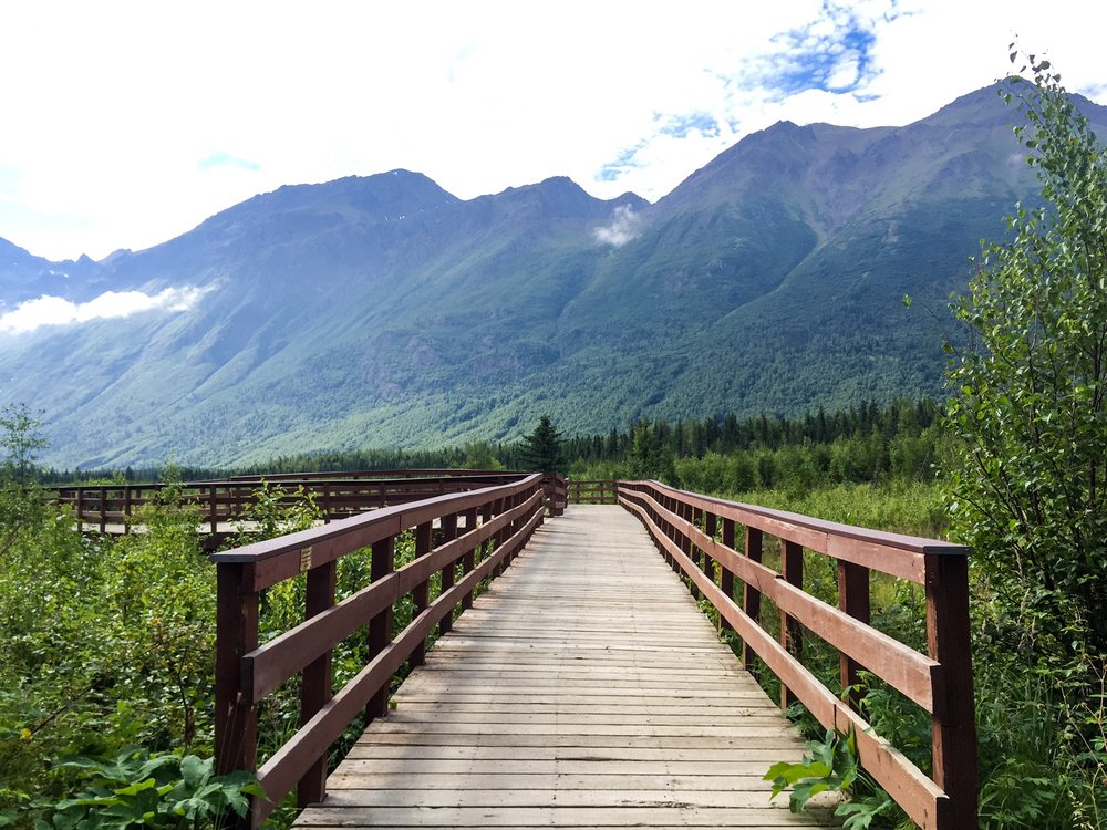Eagle River is just outside Anchorage and offers hikes of all levels and distances