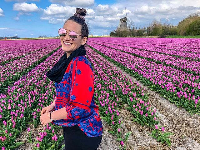Bitches love tulips