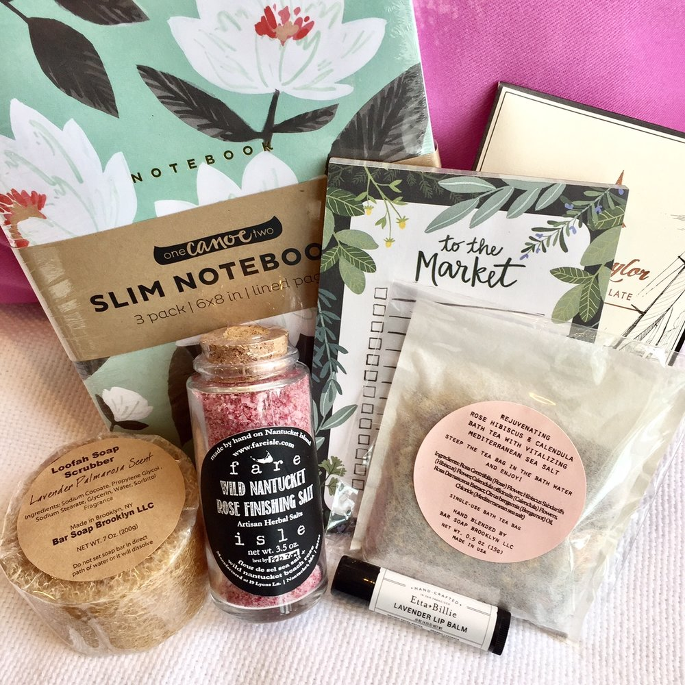CURATED By Kristen Coates: Our March Subscription Box