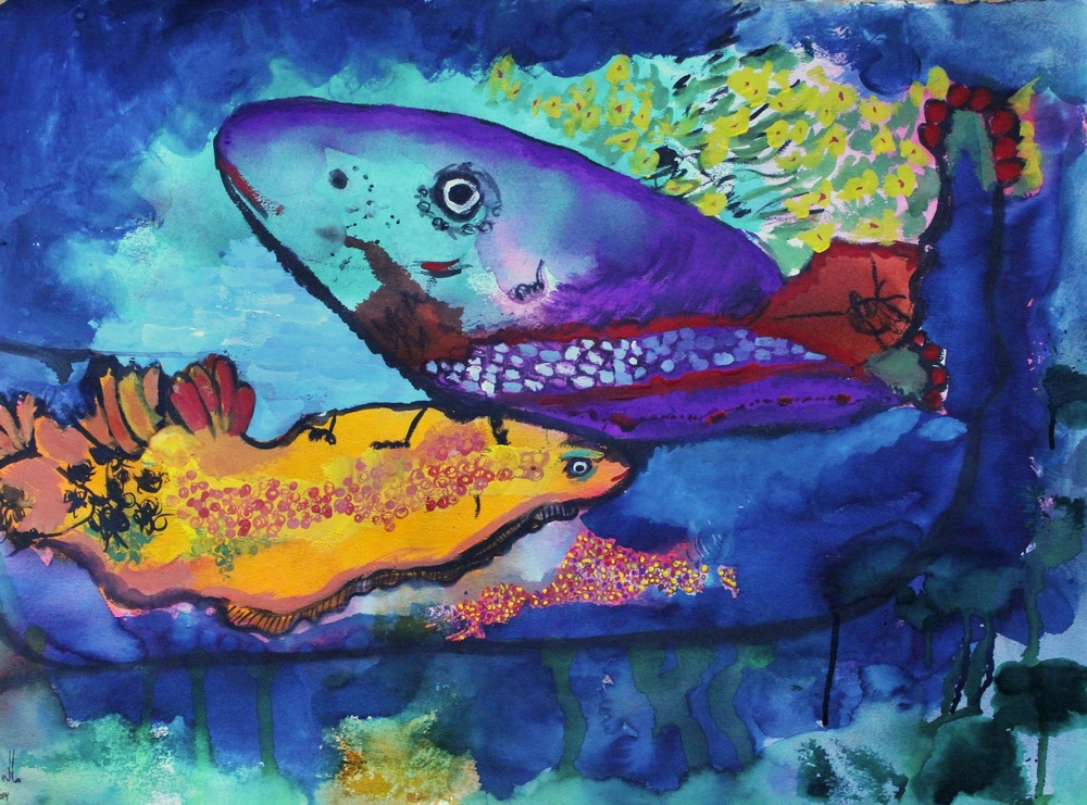 Spawning, 2014 - SOLD