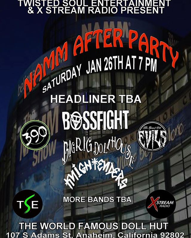 January 26 we go on at 830p!