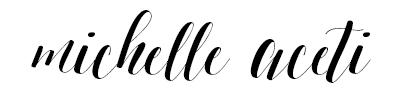 Aceti Design Co | Michelle Aceti's Signature Blog Post, Aceti Design Co. Blog Post