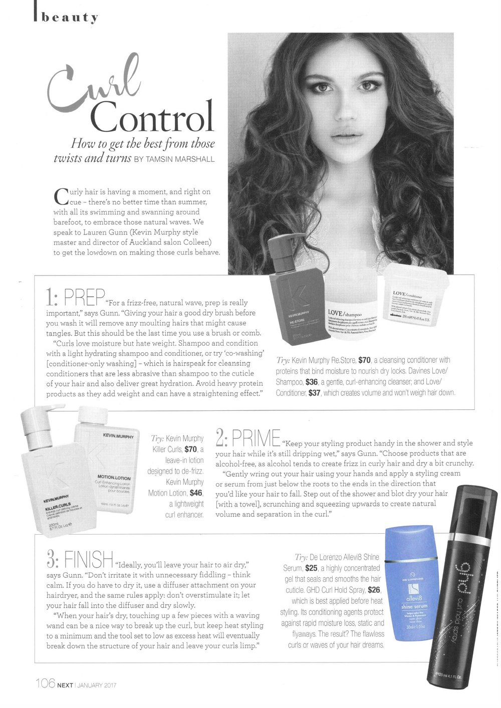 Next Jan 17 De Lorenzo Allevi8 Shine Serum page 106.jpg