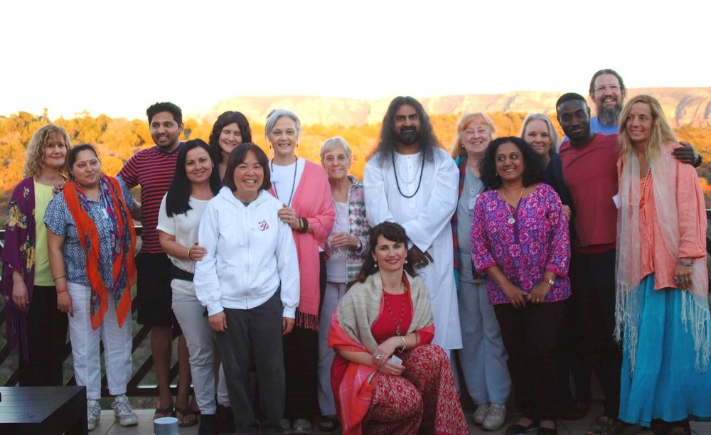 - The blissful Sedona Retreat group, March 2017