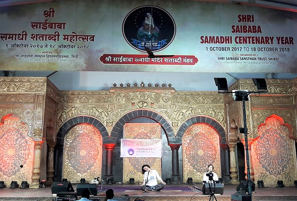 Stage, long shot, yoga at sai temple  devi i pooja.jpeg