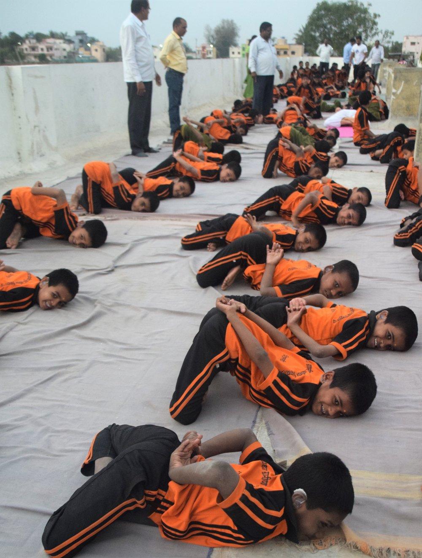 Children in Gupta Padmasana 2.jpg