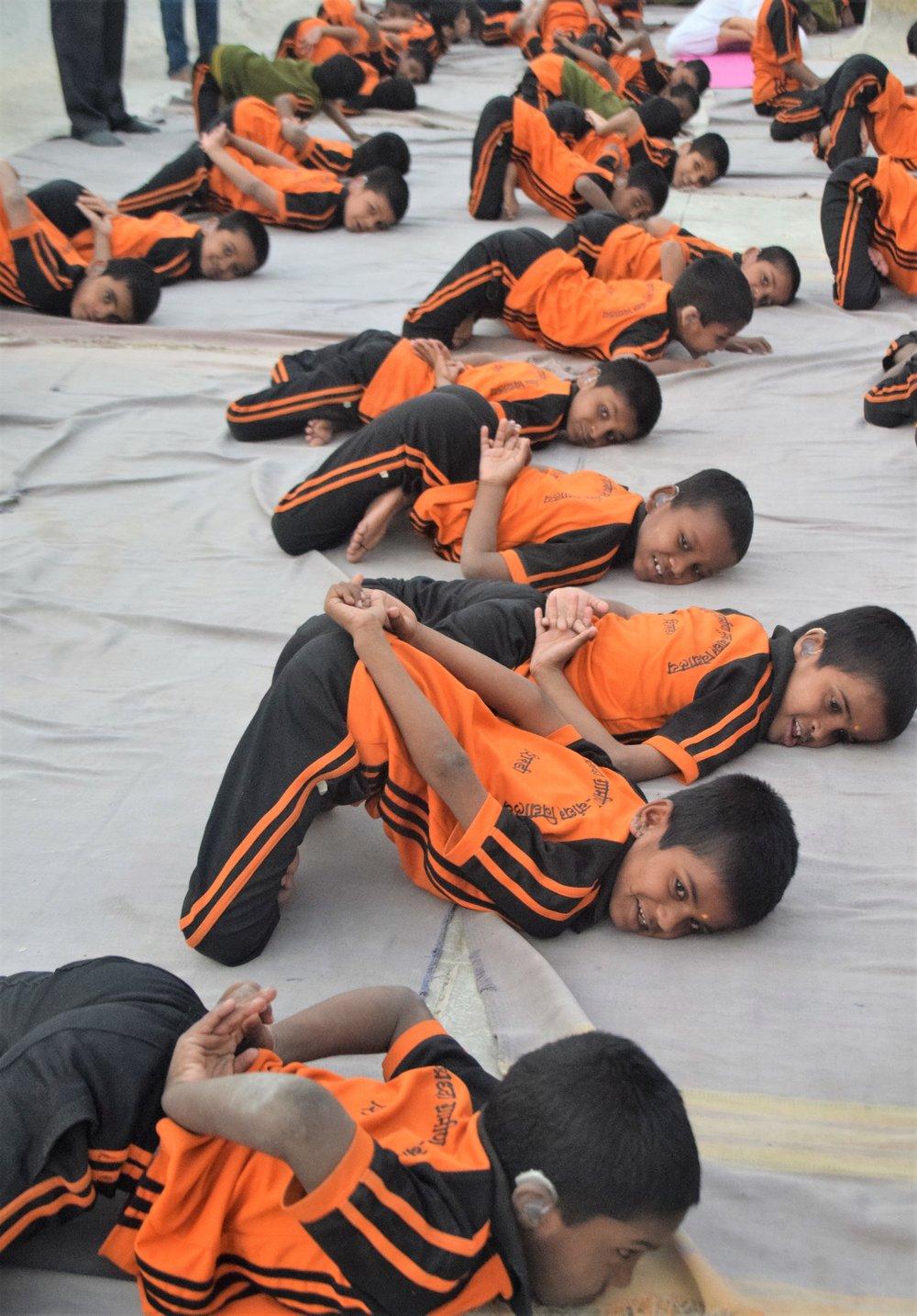 Children in Gupta Padmasana.jpg