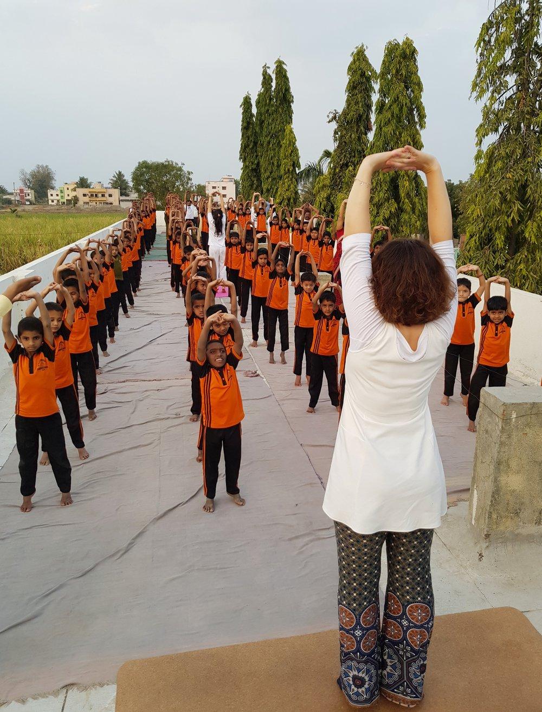 Devi in standing, children.jpg