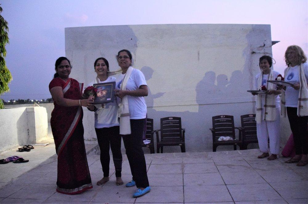 Pooja and Neha honored.jpg