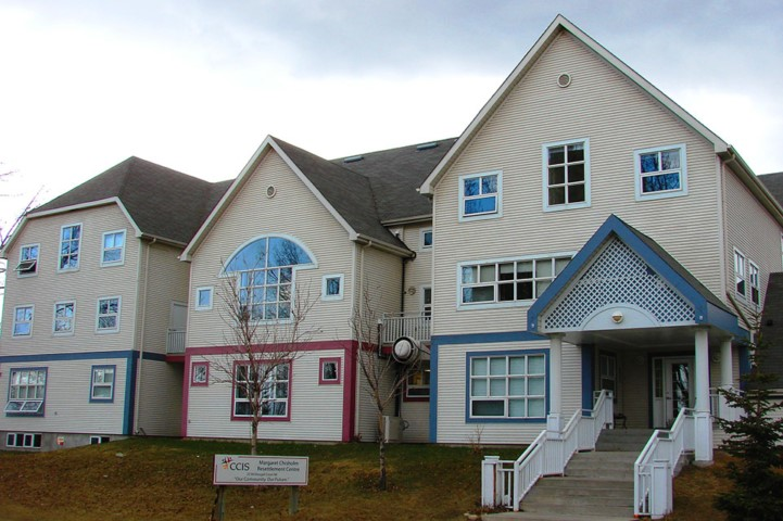 The Calgary Catholic Immigration Society's (CCIS) Magaret Chisholm Resettlement Centre in Bridgeland-Riverside is one of the most important and impactful elements  of their Resettlement Assistance Program. PHOTO CREDIT:   Rajitha Sivakumaran