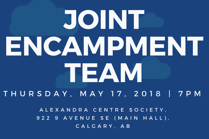 Come hear more information on the Joint Encampment Team!