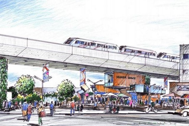 With the significant investments required, including the North Crosstown Bus Rapid Transit, the Green Line and Council-approved Main Streets work, Planning and Urban Development have completed extensive growth planning for Calgary's north central communities.Artist rendering of the Green Line. (Photo source: City of Calgary)