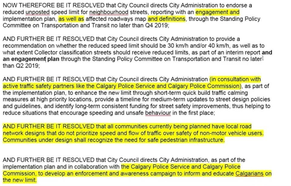 The above items were voted on and approved on September 24, 2018 by Calgary City Council.