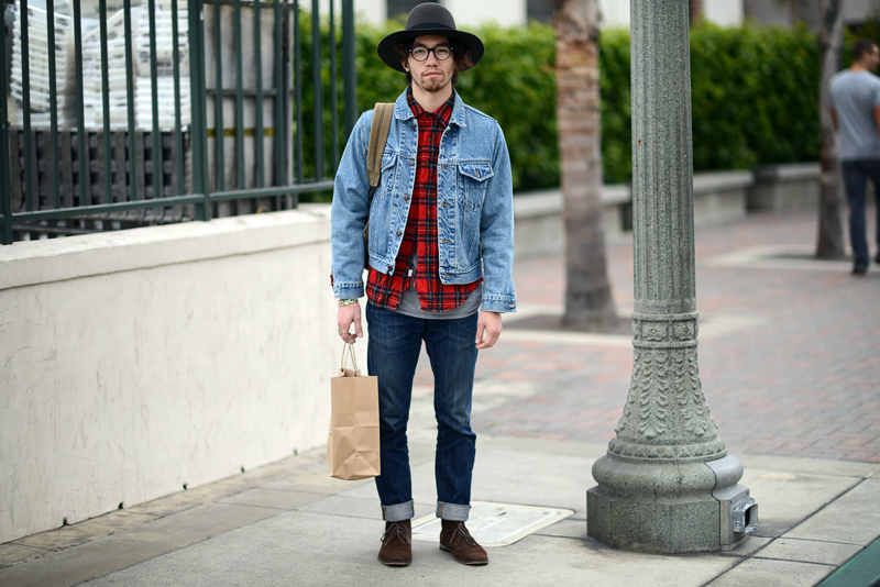 This checker board lumber jacket shirt screams fall; it stands out by it self or layer it with your favorite denim jacket,over coat or your favorite leather jacket.