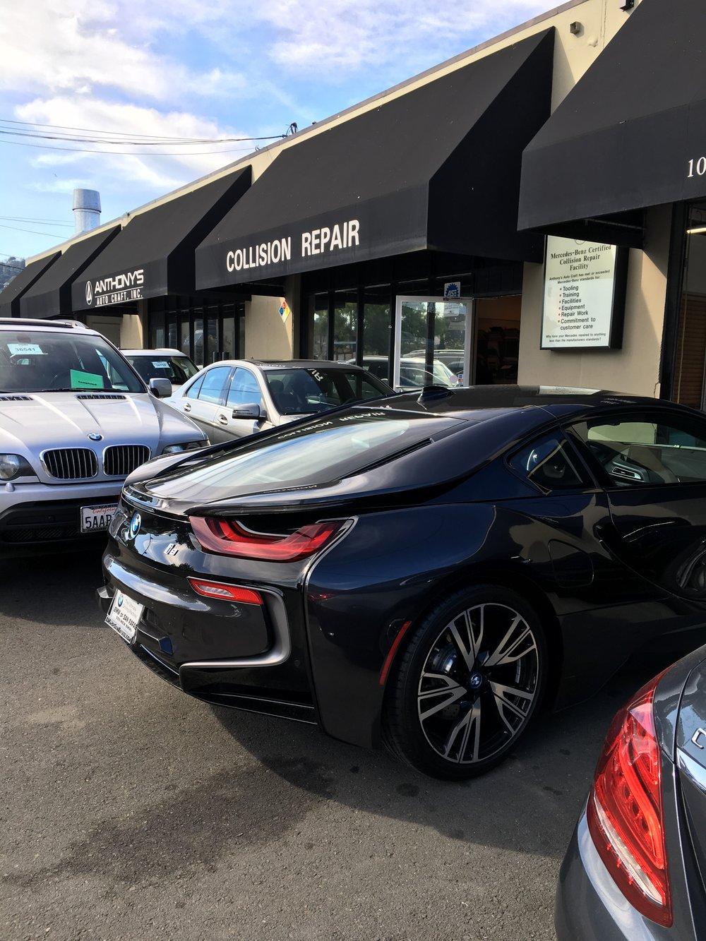 BMW I8 at Anthony's