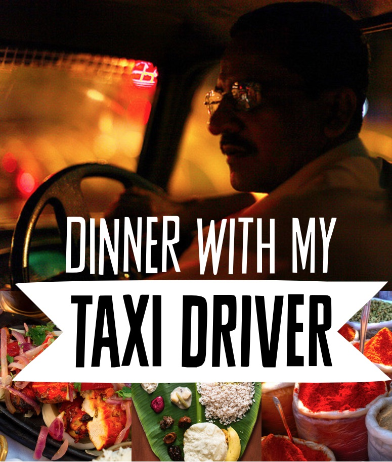 Dinner with my Taxi Driver - cover