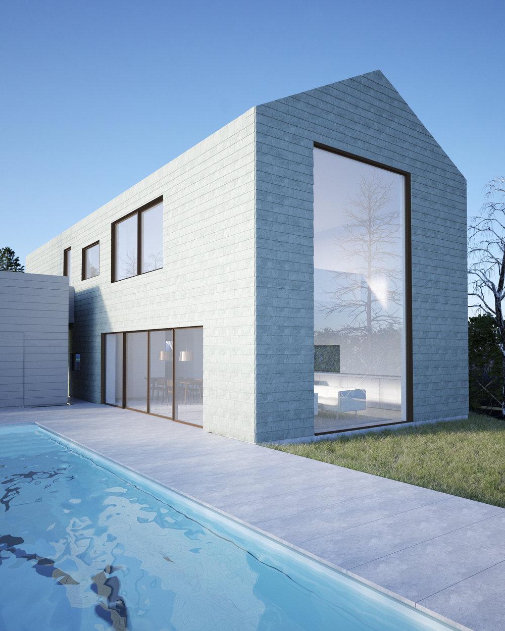 Rendering of Villa L4