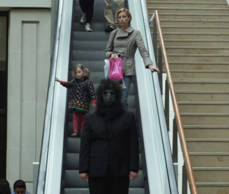 Are you an indie band not promoting yourself by walking around in a suited gorilla costume? You're doing it wrong.
