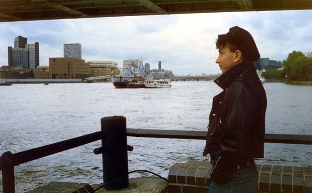 Pappas as the Thames, circa 1990.