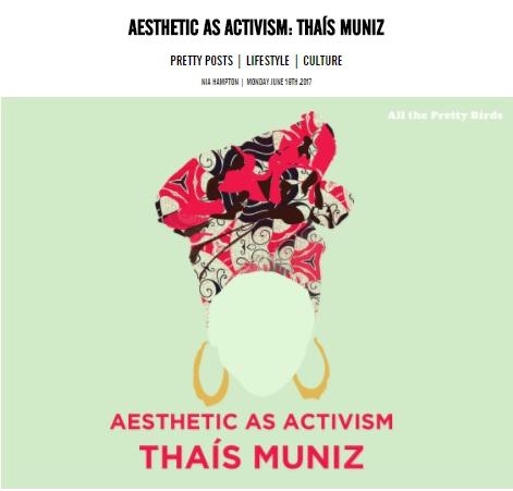 ALL THE PRETTY BIRDS   - AESTHETICS AS ACTIVISM