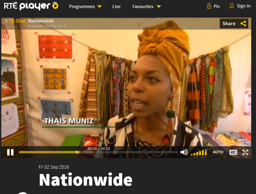 RTE IRELAND - INTERVIEW ON AFRICA DAY