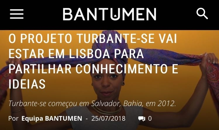 BATUMEN -   LISBON - TURBANTE-SE WORKSHOP