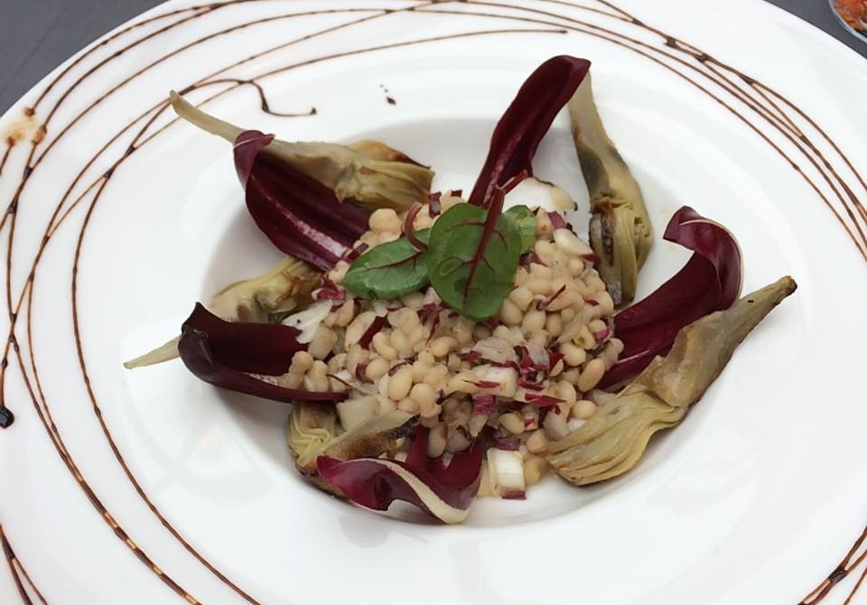 Artichoke & Cannellini Salad