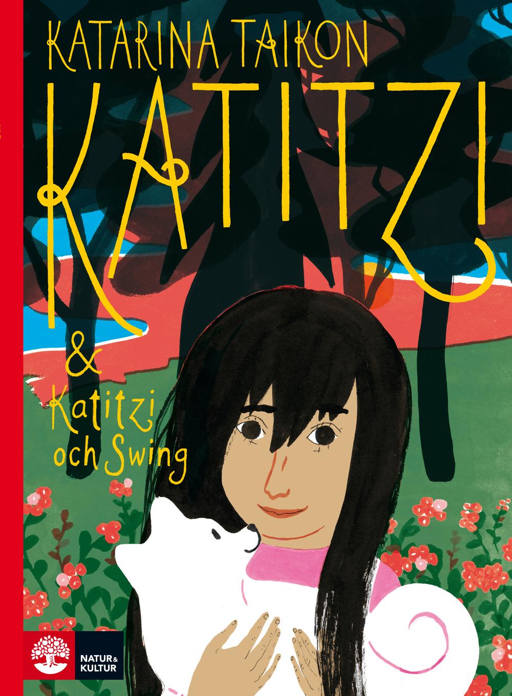 Omslag av Joanna Hellgren till den nya Katitzi-boken.