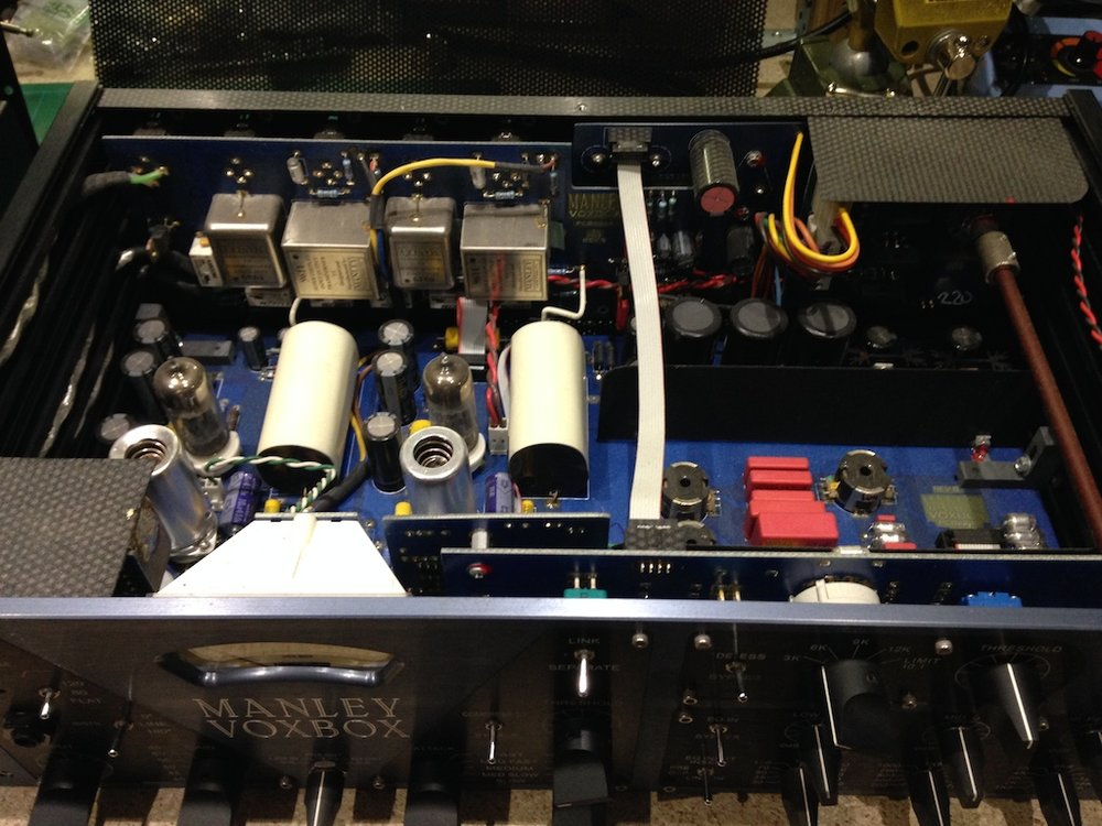 Manley Voxbox - repair, calibration, servicing