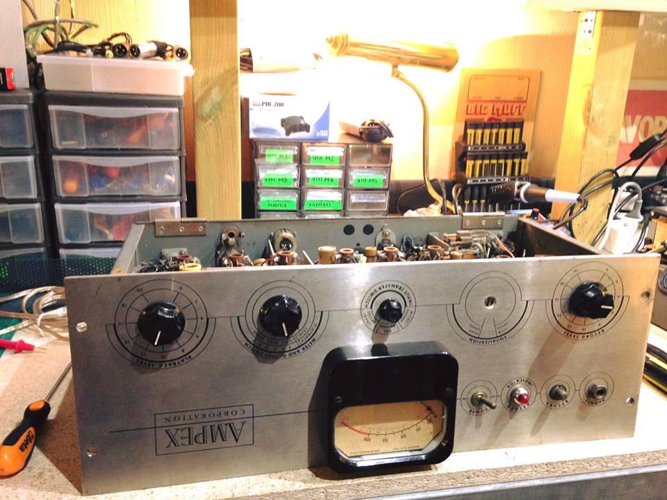 Ampex 351 - Mic Pre conversion