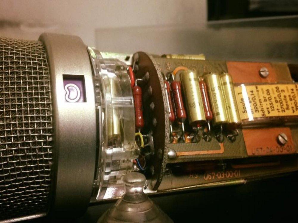 Neumann U67 - Full restoration