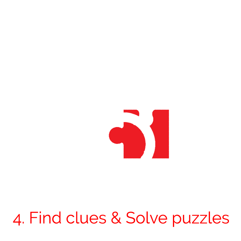 Find Clues and Solve Puzzles