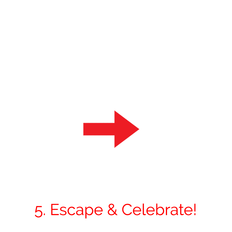 Escape and Celebrate