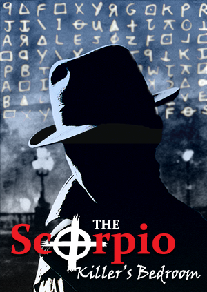 You are a group of famous London detectives tracking Scorpio, a serial killer who enjoys taunting the police with cryptogram letters before the next killing. After some serious deductions, you narrowed down on a suspect. Seeking the final piece of evidence to close the case, you broke into the suspect's apartment. Will you finally solve the case?