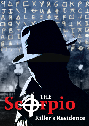 You are a group of famous London detectives tracking Scorpio, a serial killer who enjoys taunting the police with cryptogram letters before the next killing. Seeking the final piece of evidence to convict the suspect, you broke into his apartment. Will you finally solve the case?