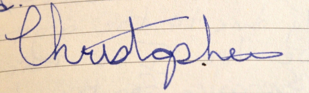 This is the best signature that I can muster.