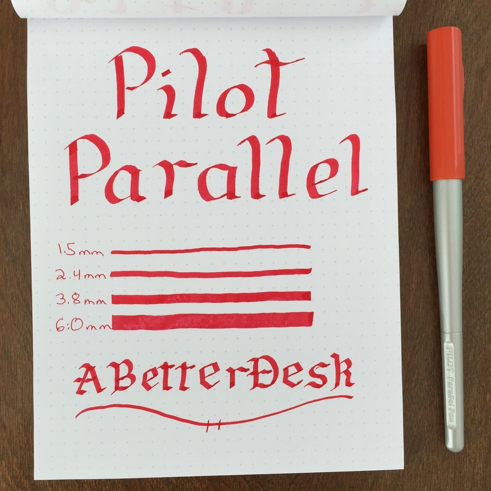 Pilot Parallel Calligraphy Pen Handwritten Review.jpg