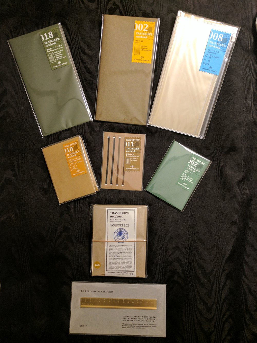 An example of some of the available inserts.