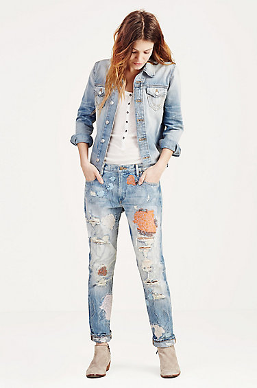 True Religion Liv Relaxed Skinny $319