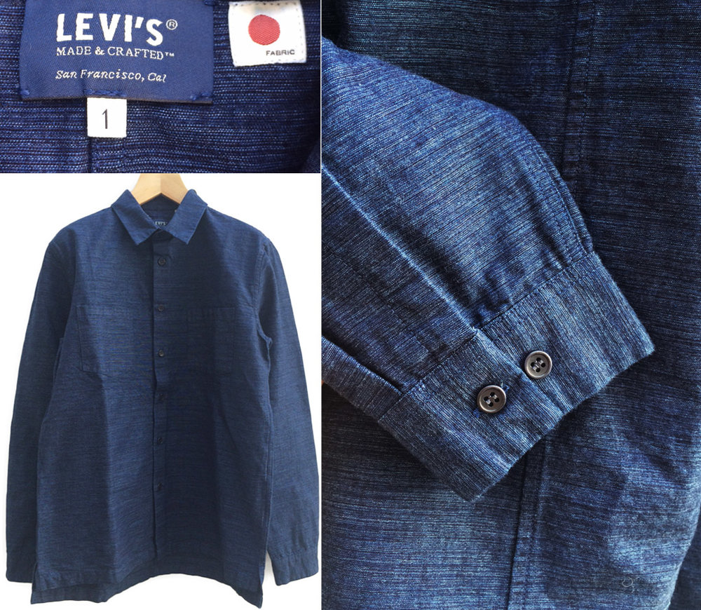 Denim digest cool hunter raw denim my picks from the for Levis made and crafted spoke chino