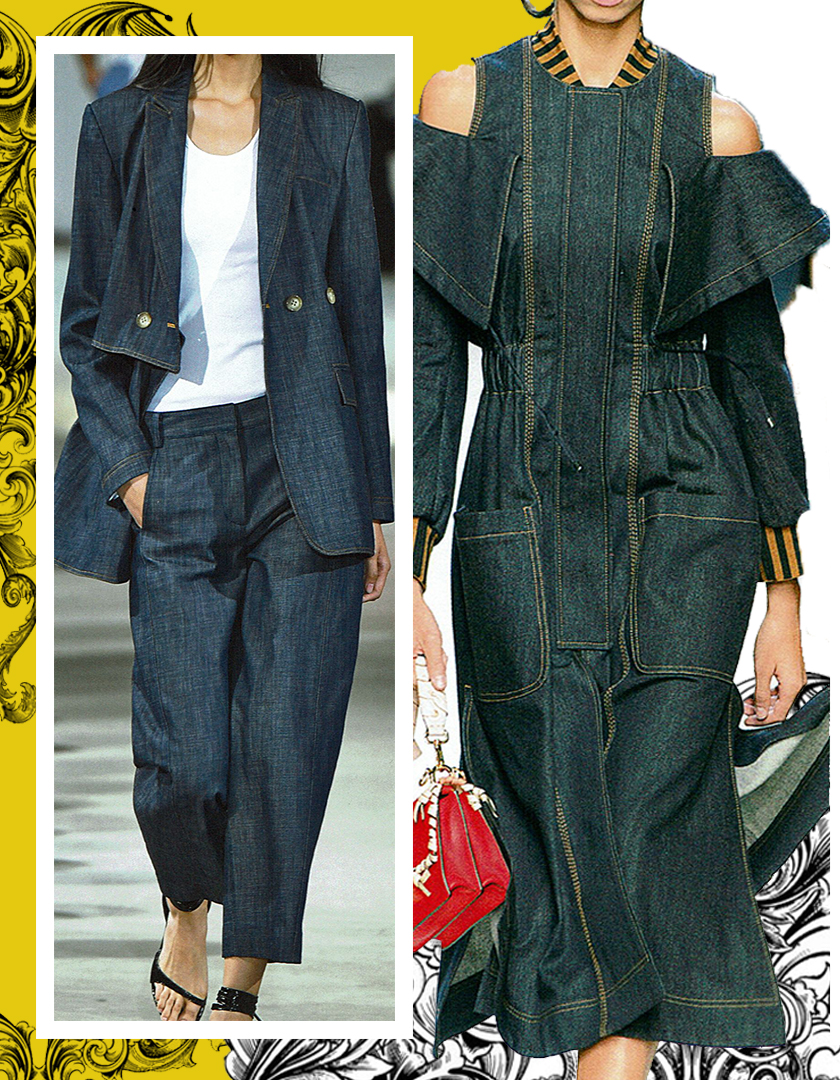 Designers: Left: Tibi  | Right: Fendi