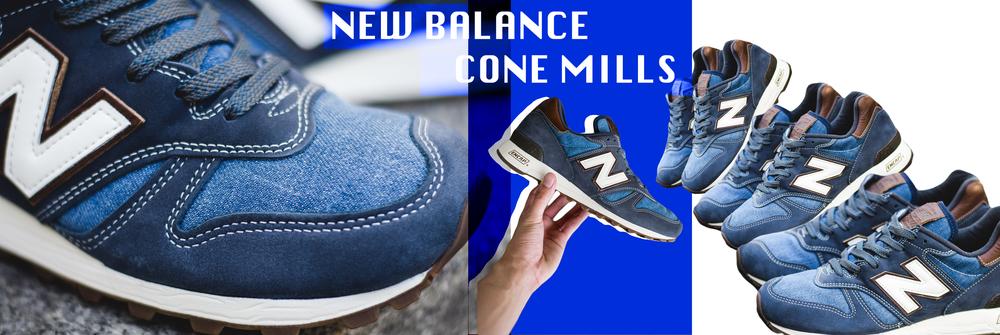 New Balance X Cone Denim Mills