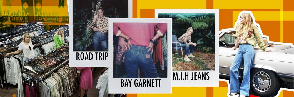 Bay Garnett X M.i.h Jeans, Vintage Road Trip
