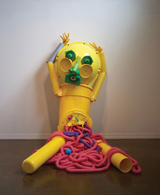 """Eviscerated Yellow Man,"" Alex Lockwood"