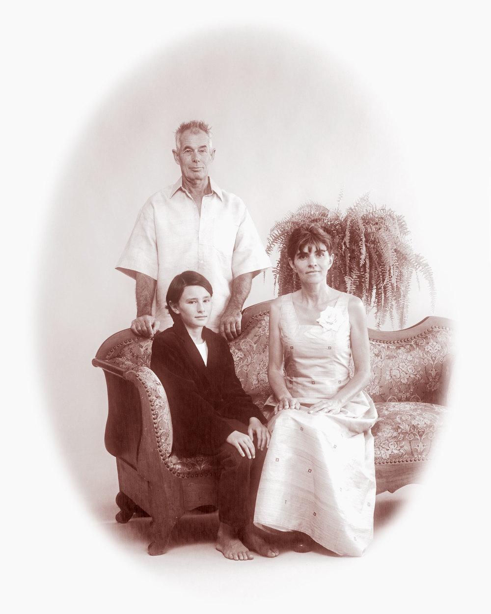 Portrait de famille copyright Nicole Neukirch & Bertrand Cottet