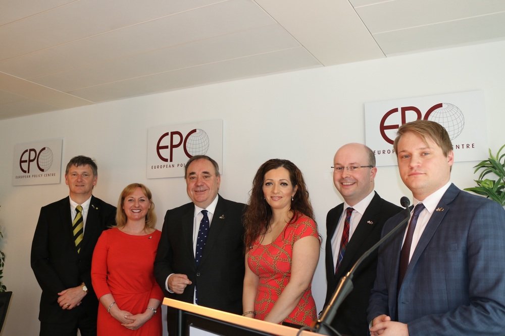Peter Grant MP, Lisa Cameron MP, Alex Salmond MP, Tasmina Ahmed-Sheikh MP, Patrick Grady MP, Stuart Donaldson MP.