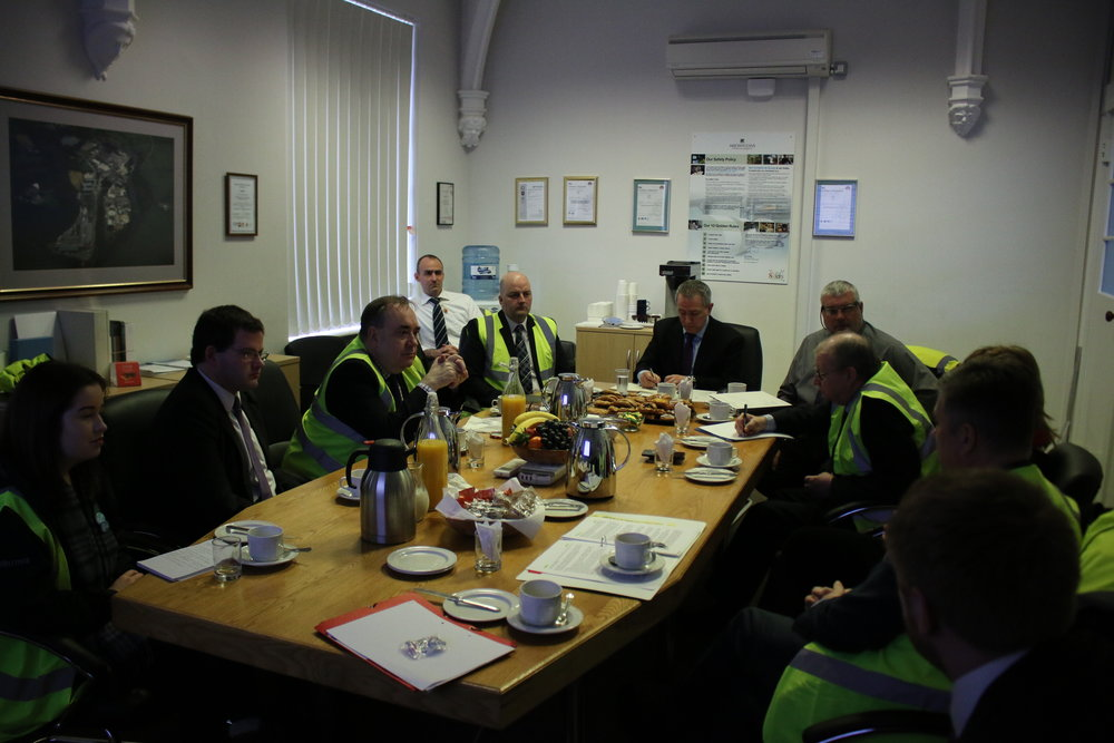 Meeting at Stoneywood Mill